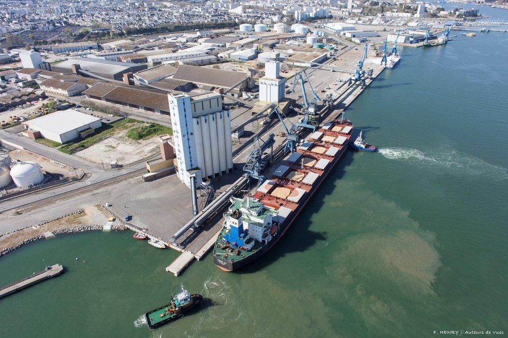 Les ports europ ens sont devenus un probl me environnemental for Chambre de commerce lorient