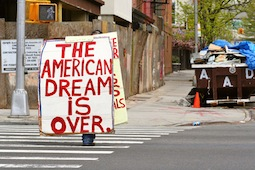 How the American dream is becoming an American illusion