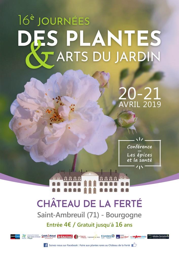 Journées des plantes et arts du jardin, à Saint-Ambreuil (Saône-et-Loire)