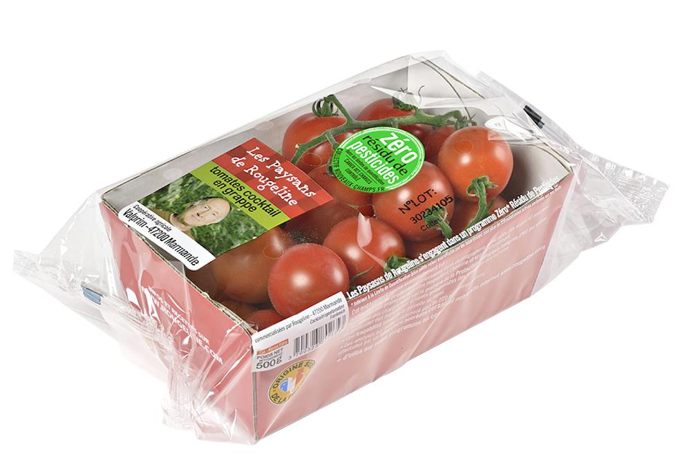 «Rückstandfreies» Obst und Gemüse (zéro résidu de pesticides) aus Frankreich: Der Verzicht auf Pflanzenschutzmittel wird immer mehr zum Marketingargument.