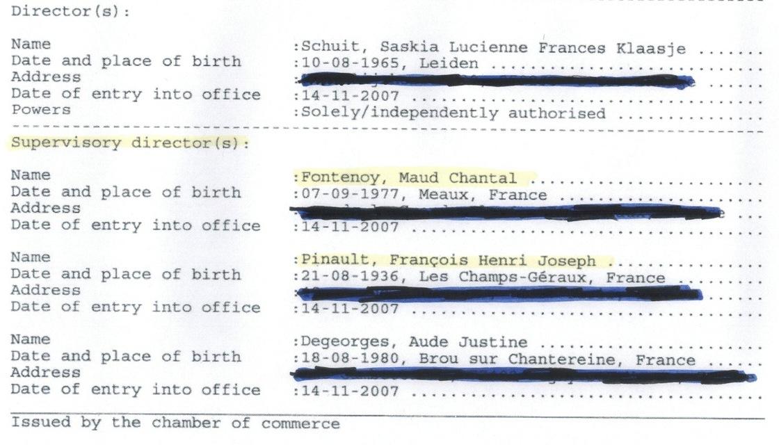 Le milliardaire François Pinault co-dirige la Fondation Maud Fontenoy