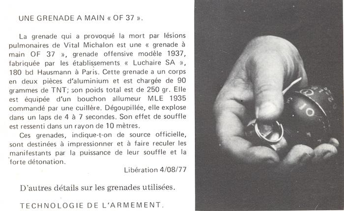Il y a quarante ans, l'Etat tuait Vital Michalon, jeune antinucléaire ! Par  Lorène Lavocat (Reporterre)                     Malville_31_juillet_1977_10