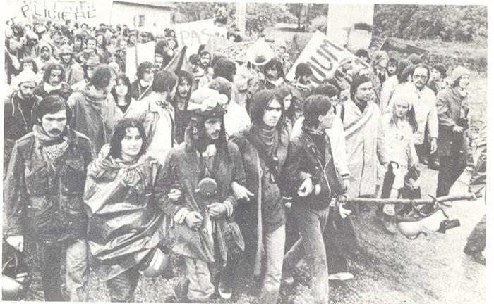 Il y a quarante ans, l'Etat tuait Vital Michalon, jeune antinucléaire ! Par  Lorène Lavocat (Reporterre)                     Malville_31_juillet_1977_3_v_1