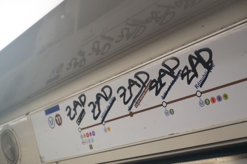 À Belleville, dans le métro, à Tolbiac… à Paris, la « Zad est lumière »
