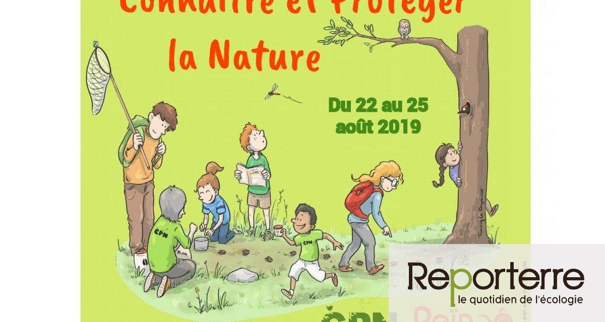 Rencontres internationales « connaître et protéger la nature » (CPN), à Saint-Brisson (Nièvre)