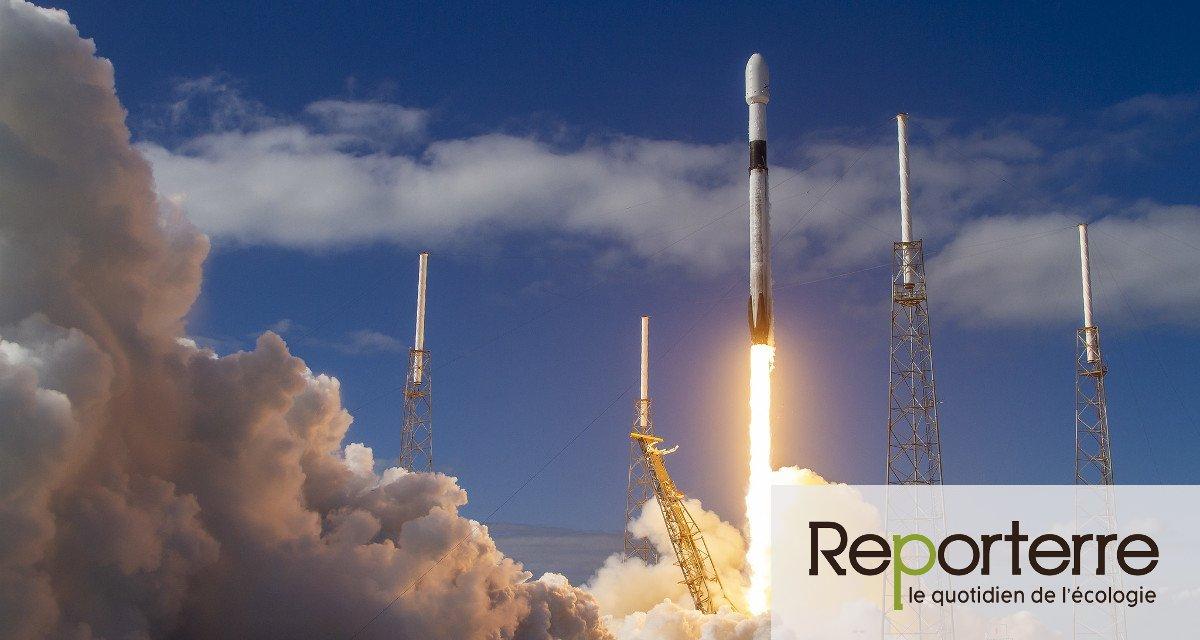 Starlink, le plan géant d'Elon Musk pour occuper l'espace Enquête - Reporterre