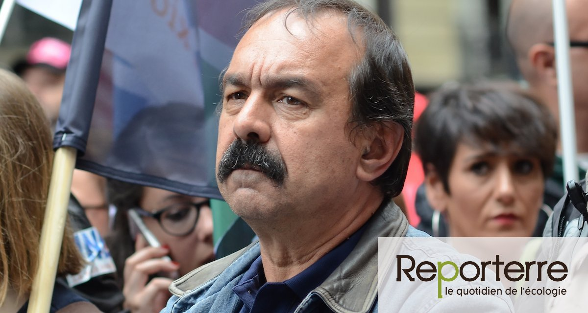 Philippe Martinez : « Avec les écologistes, on se parle ; ce n'était pas le cas avant »