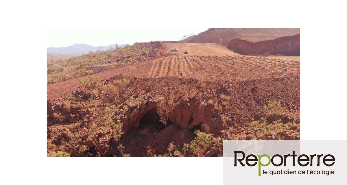 En Australie, la compagnie minière Rio Tinto détruit une grotte sacrée connue depuis 46.000 ans