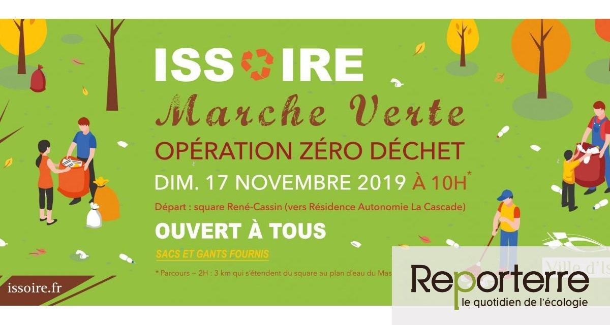 Marche verte à Issoire (Puy-de-Dôme)