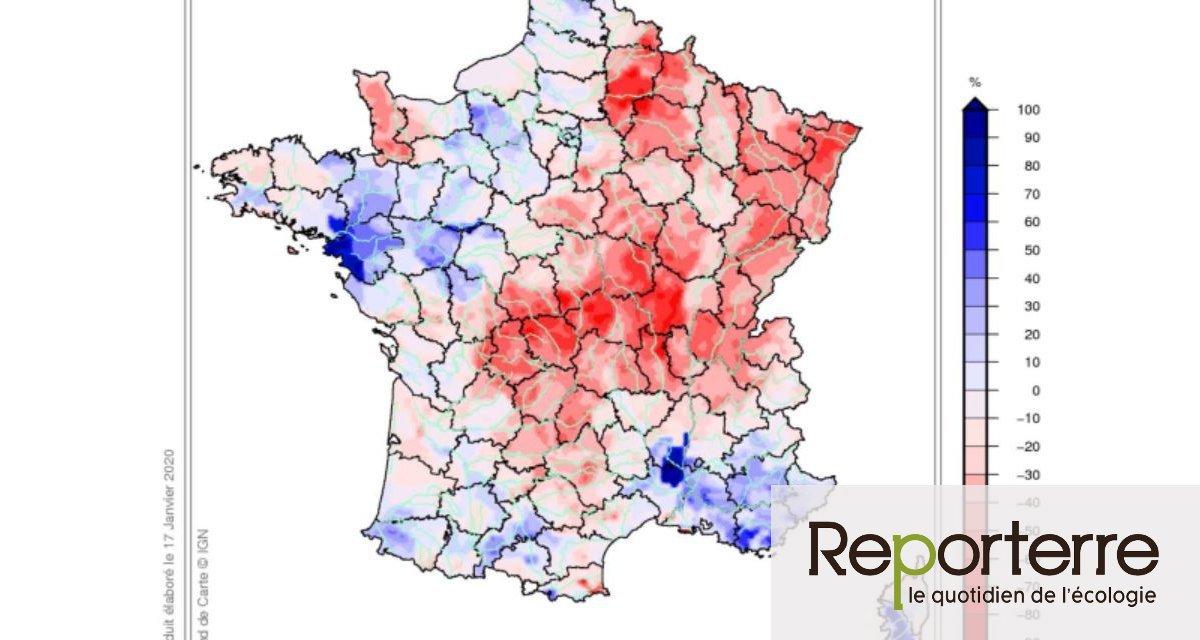 Rivières à sec, nappes au plus bas : 2019, une année noire pour l'eau en France