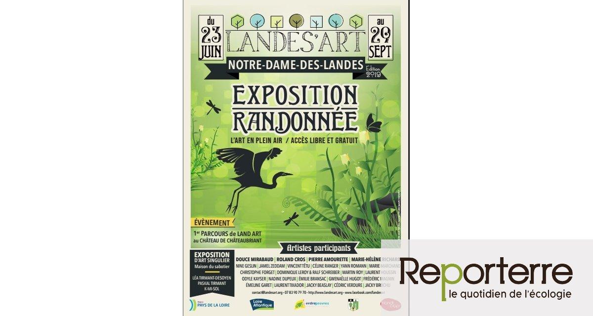 Landes'art 2019, à Notre-Dame-des-Landes (Loire-Atlantique)