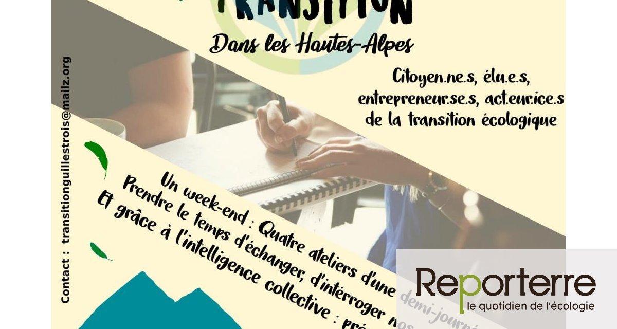 Université d'été de la transition, à Guillestre (Hautes-Alpes)