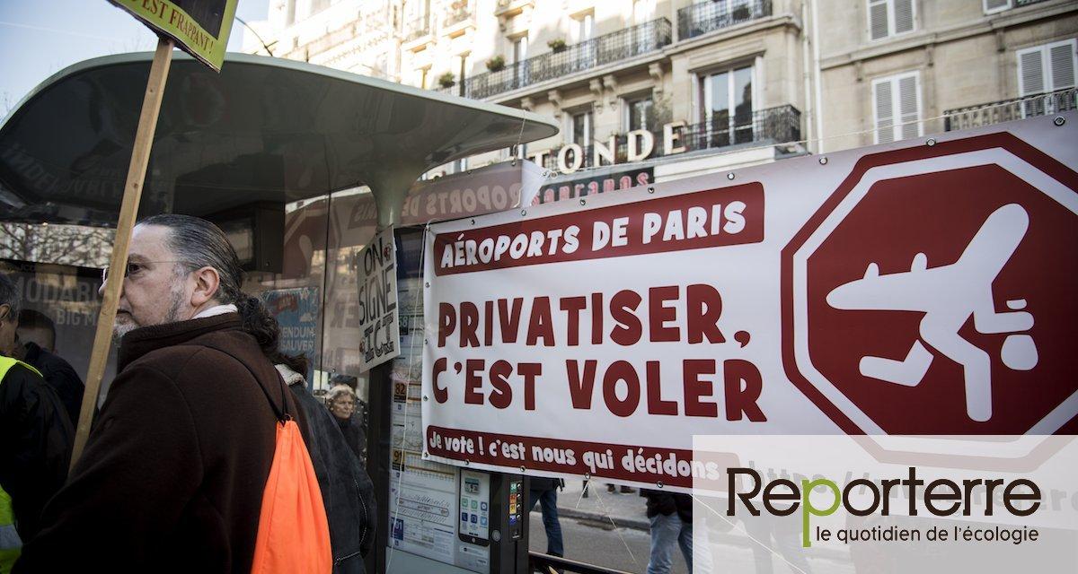 La privatisation d'Aéroports de Paris, un enjeu majeur de démocratie et d'écologie