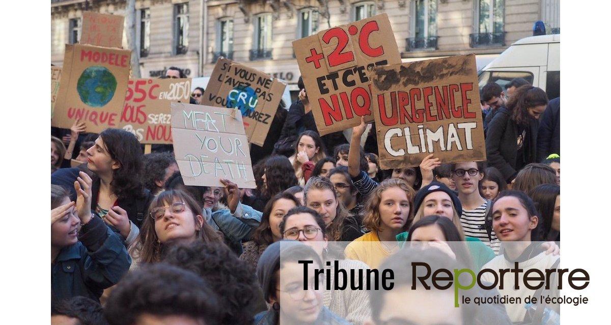 Climat : le gouvernement Philippe hypothèque l'avenir de la jeunesse