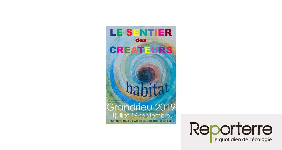 Le Sentier des créateurs, l'Art recyclé ! à Grandrieu (Lozère)