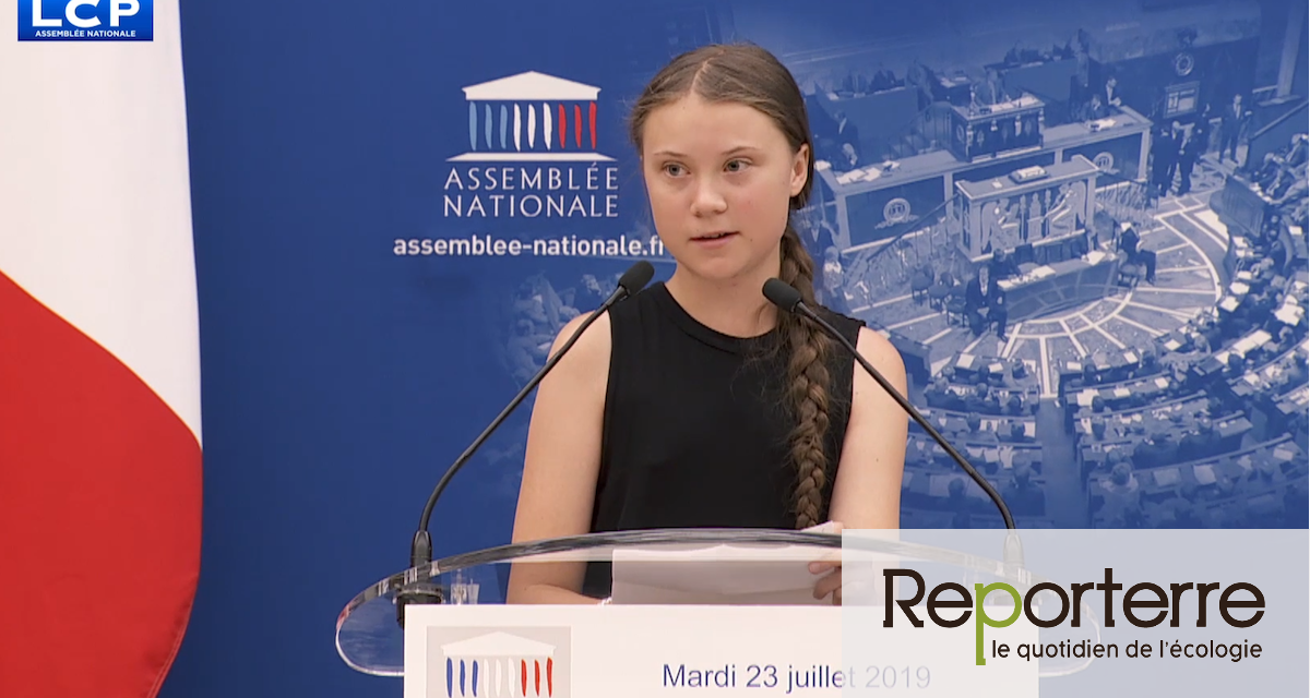 Greta Thunberg tente de secouer les députés... qui ratifient le Ceta