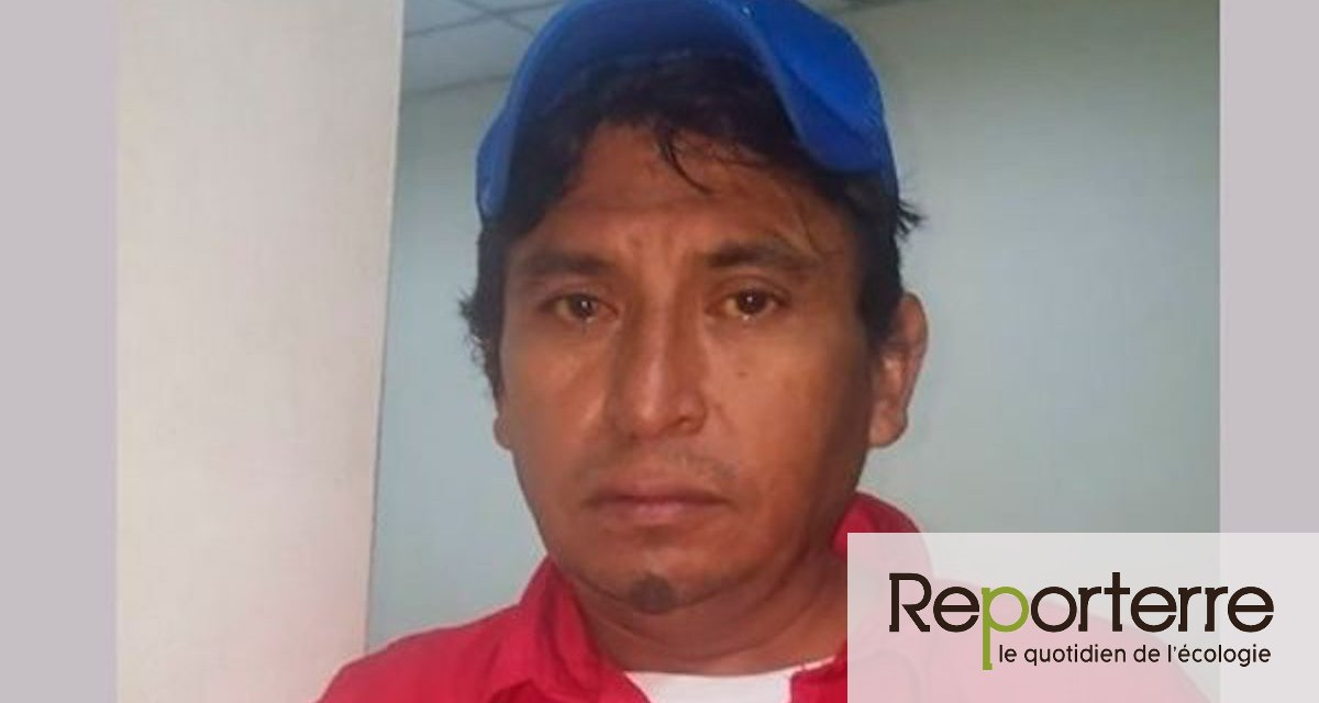 Marcos Tulio Cruz, leader paysan assassiné au Honduras