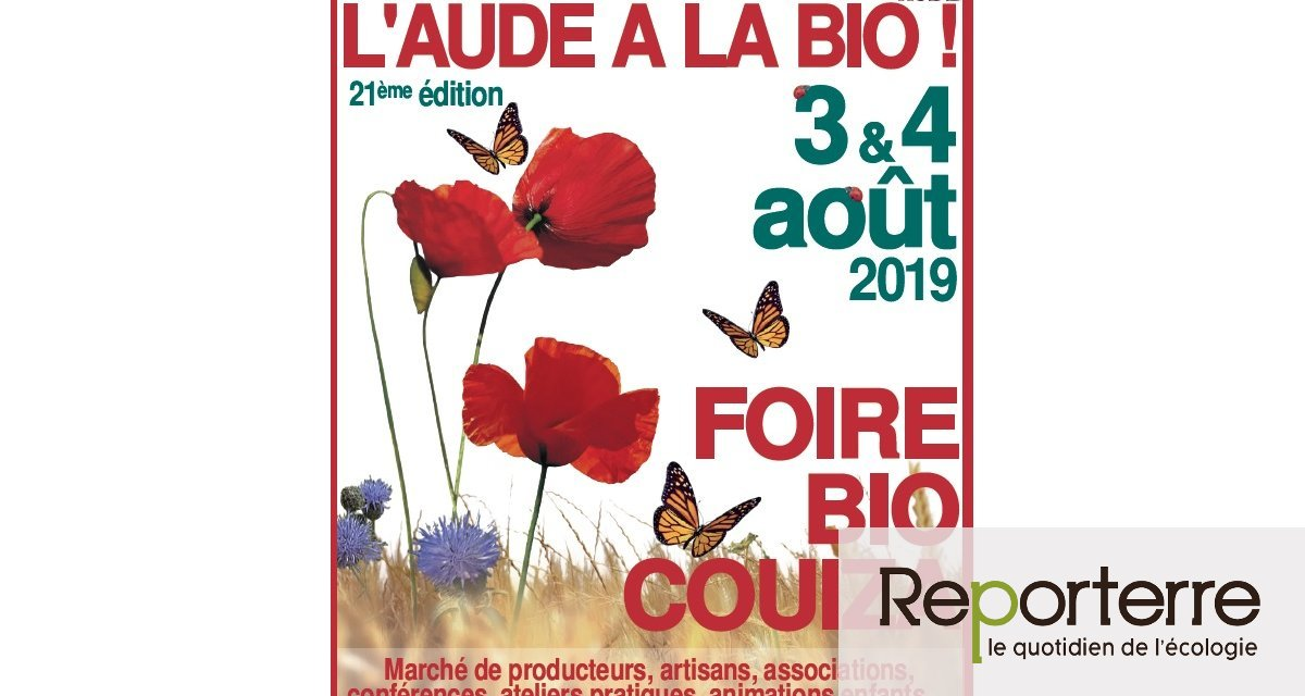 L'Aude a la bio, à Couiza (Aude)