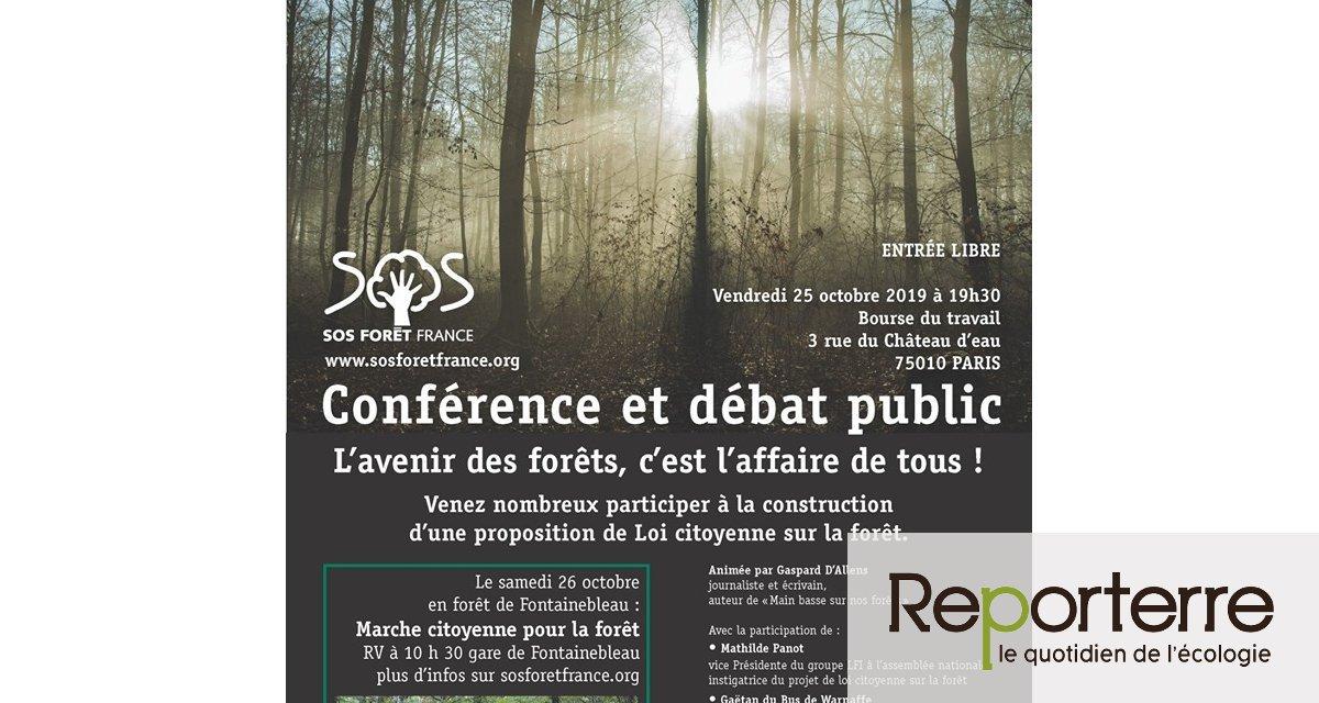 Forêts vivantes ou déserts boisés ? conférence-débat à Paris