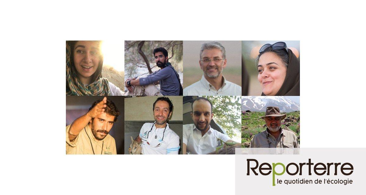En Iran, huit écologistes condamnés à plusieurs années de prison