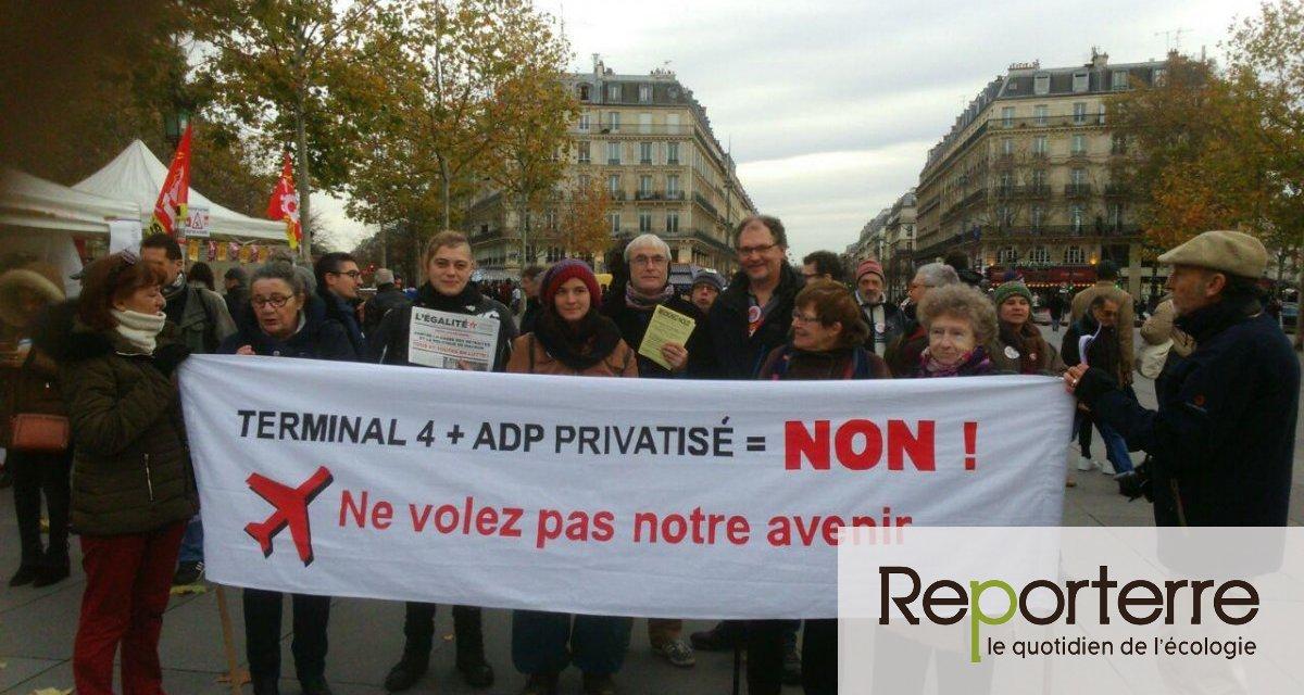 Contre l'extension de l'aéroport de Roissy, 15 associations déposent un recours