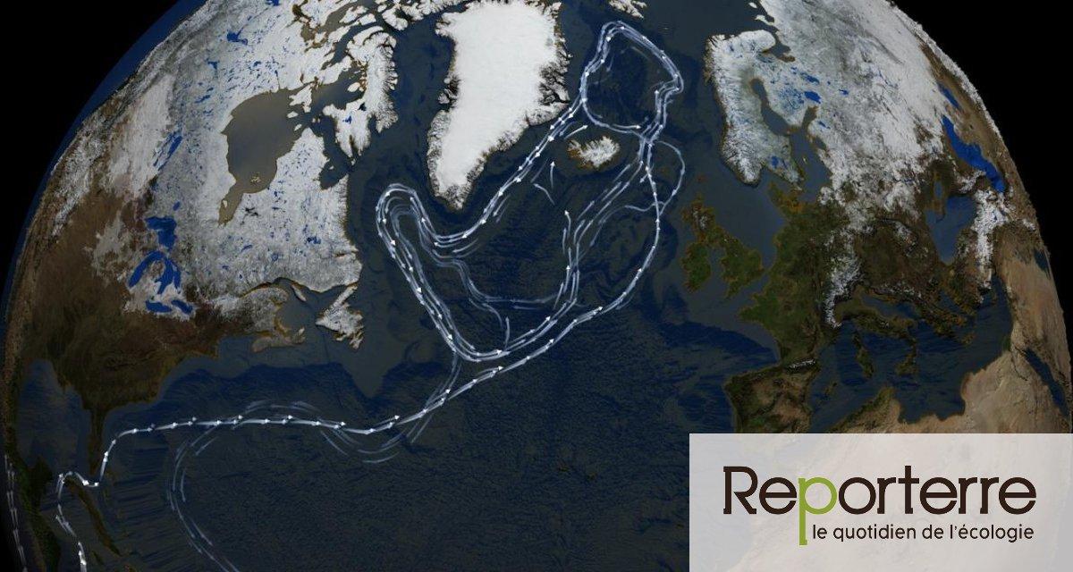 2 mars 2021 Climat : le grand courant marin de l'Atlantique se ralentit - Reporterre