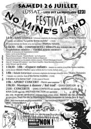 Festival No Mines Land