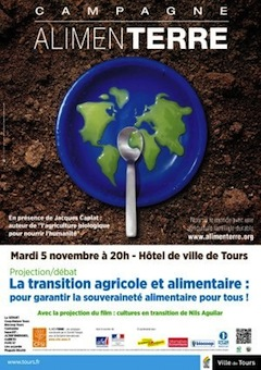 "«<small class=""fine""> </small>Cultures en transition<small class=""fine""> </small>», 5 novembre à Tours"