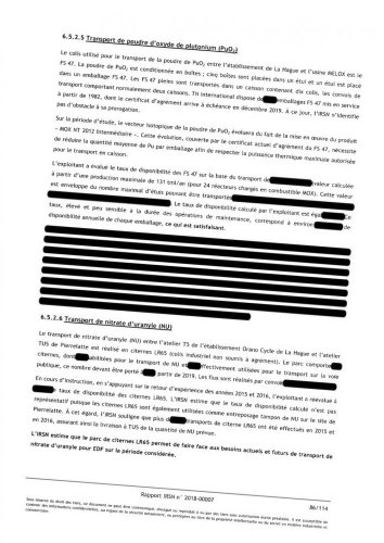 """<span class=""""caps"""">EDF</span> et Orano censurent un rapport de l'<span class=""""caps"""">IRSN</span> surlagestion desdéchets nucléaires"""