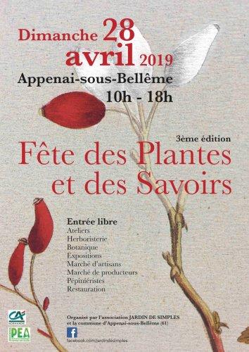 Fête des plantes et des savoirs, à Appenai-sous-Bellême (Orne)