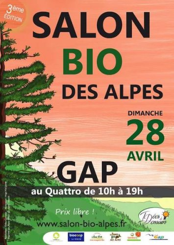 Salon bio des Alpes, à Gap (Hautes-Alpes)