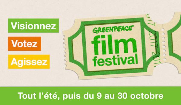 Greenpeace Film Festival: quatre films sur l'alimentation et l'agriculture