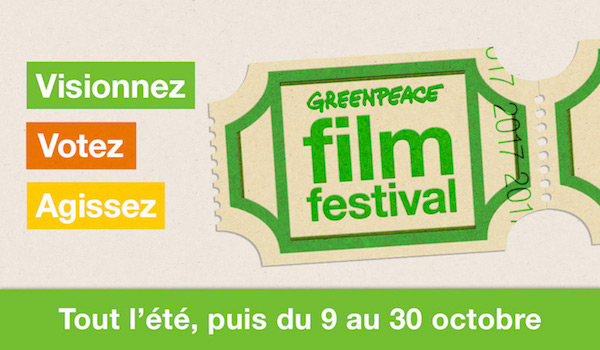 Greenpeace Film Festival : quatre films sur la transition écologique