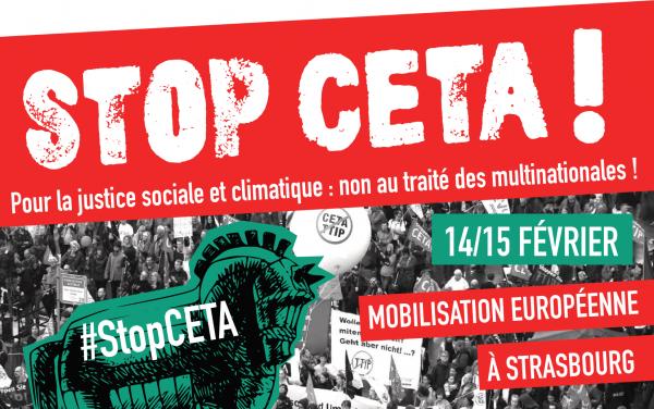 """Tou⋅te⋅s à Strasbourg pour stopper le vote du Ceta<small class=""""fine""""></small>!"""