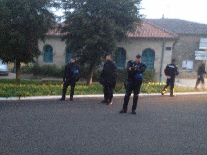 À Bure, sous insupportable pression policière, les gendarmes ont perquisitionné