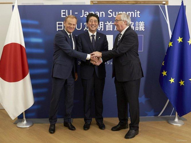 L'Union européenne et le Japon signent le JEFTA, accord de commerce climaticide
