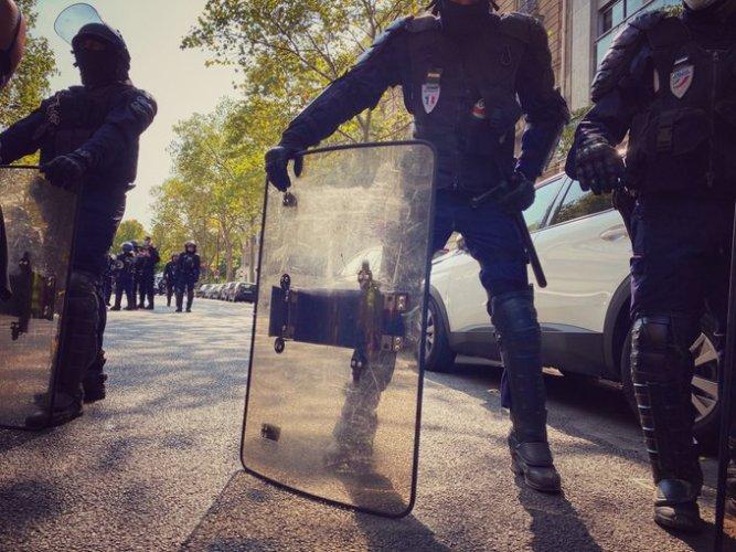 Des journalistes empêchés de travailler pendant la manifestation des Gilets jaunes
