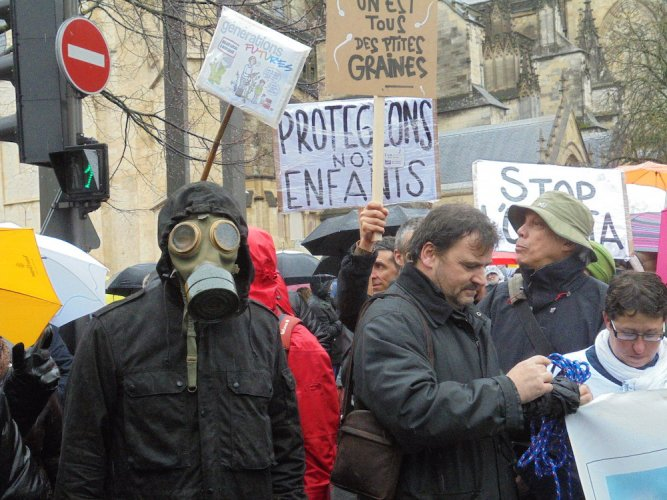 Le succès surprenant de la marche anti-pesticides à Bordeaux