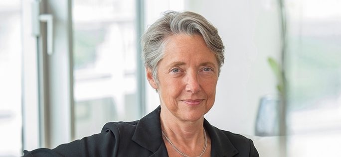 "La ministre des transports Elisabeth Borne : «<small class=""fine""> </small>On fait une pause sur le Lyon Turin<small class=""fine""> </small>»"" width=""684″ height=""316″ /></div> <div> <p><span style="