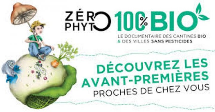 Projection du documentaire Zero Phyto 100% bio, à Paris