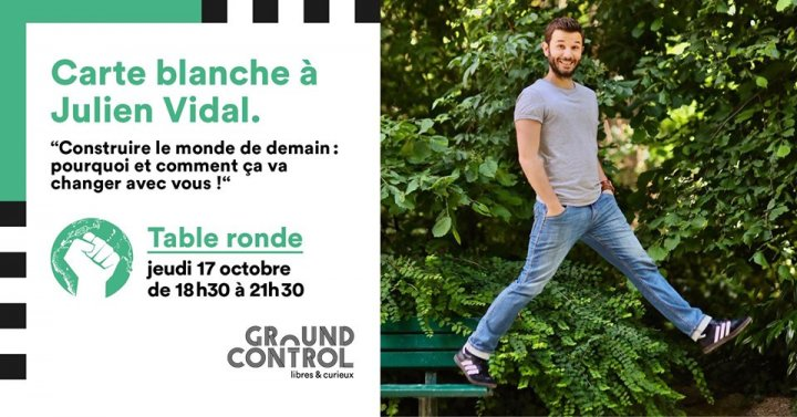 Carte blanche à Julien Vidal, à Paris
