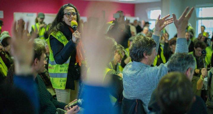 Près de Commercy, l'assemblée des Gilets jaunes refonde ladémocratie