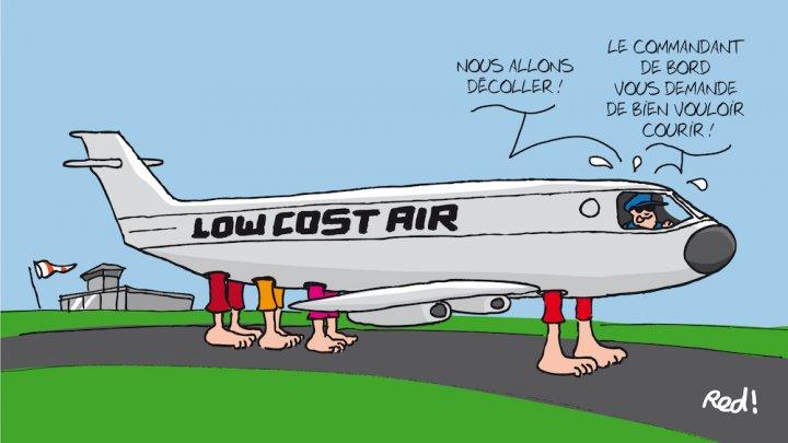 Le low-cost, rêve du transport aérien, cauchemar de la planète