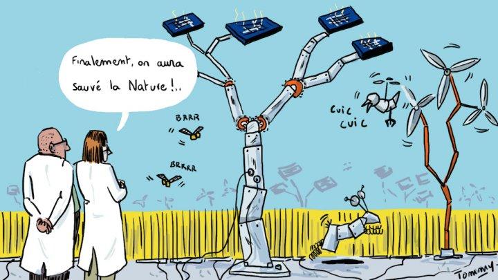 Les technologies bouleversent le quotidien pour mieux conserver le système