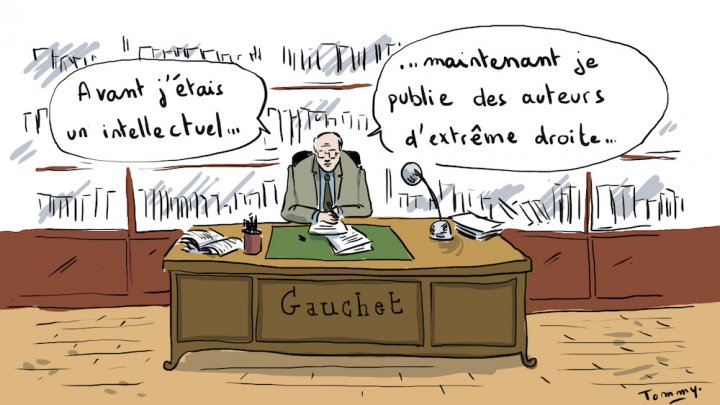 """Quand le <span class=""""caps"""">FN</span> s'inspire d'un intellectuel édité par le libéral Marcel Gauchet"""