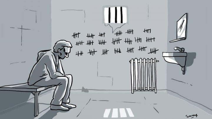 En prison depuis quatre mois. Son crime<small class=&quot;fine&quot;/>? Être anarchiste»/</figure>    <p>Depuis quatre mois, un jeune homme est enfermé à Toulouse. Aucun délit réel ne lui est reproché. Mais ses opinions anarchistes l'ont fait mettre en examen pour «&nbsp;association de malfaiteurs&nbsp;»&#8230; à lui tout seul. Il comparaît ce vendredi devant le juge.</p>    <ul><li><strong>Actualisation</strong>&nbsp;&#8211;&nbsp;<em>Vendredi 17&nbsp;mai, 14h45</em>&nbsp;&#8211; La juge des libertés et des peines, M<sup>me</sup>&nbsp;Estèbe, a renouvelé le mandat de dépôt de R. Qui restera donc en prison, sans avoir commis de délit, quatre mois de plus.</li></ul>    <hr class=