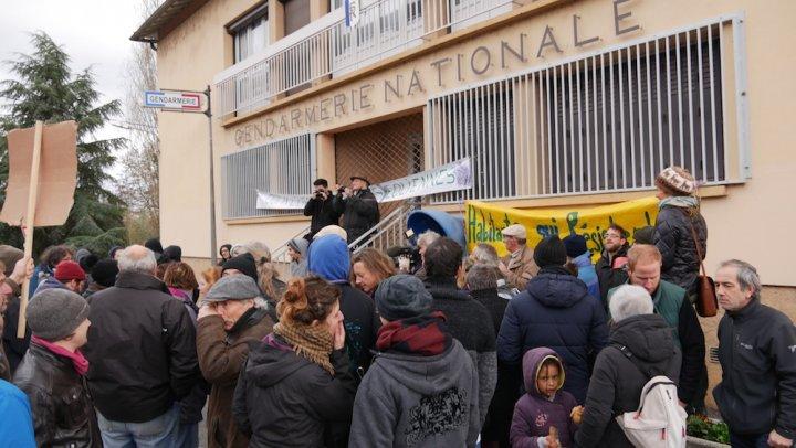 La tension monte contre les éoliennes en Aveyron