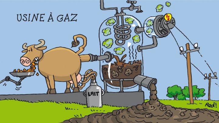 La méthanisation, l'usine à gaz qui séduit les gros agriculteurs
