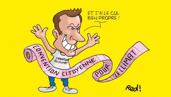 """Macron, grand gagnant de la Convention citoyenne pour le climat<small class=""""fine d-inline""""></small>?"""