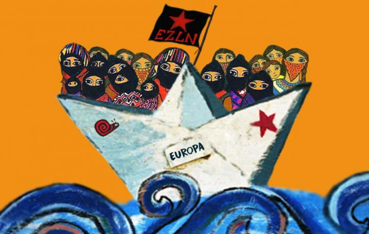"""«<small class=""""fine d-inline""""></small>Déclaration pour la vie<small class=""""fine d-inline""""></small>»: les zapatistes annoncent leur venue en Europe"""